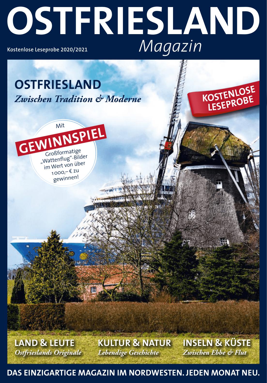 Titelseite Ostfriesland Magazin